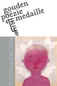 Bette Westera neemt de Gouden Poëziemedaille in ontvangst voor haar boek Doodgewoon @ Boekenbeurs - Spiegeltent | Antwerpen | Vlaanderen | België