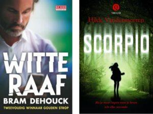 Janneke Siebelinck interviewt Hilde Vandermeeren en Bram Dehouck @ Boekenbeurs - Rode Podium | Antwerpen | Vlaanderen | België